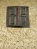 Geschlossenes Fenster Stockbild