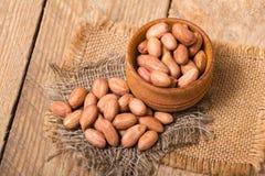 Geschälte Erdnüsse Stockfoto