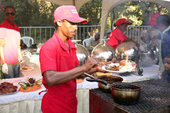 Geschmack 2012 des Addis-Nahrungsmittelfestivals Stockbild