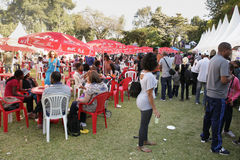 Geschmack 2012 des Addis-Nahrungsmittelfestivals Lizenzfreie Stockfotografie