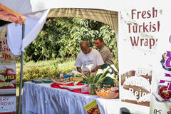 Geschmack 2012 des Addis-Nahrungsmittelfestivals Stockfotografie