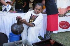 Geschmack 2012 des Addis-Nahrungsmittelfestivals Stockfotos