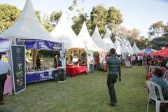 Geschmack 2012 des Addis-Nahrungsmittelfestivals Lizenzfreies Stockbild