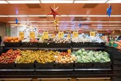 Geschmacksupermarkt stockfotografie