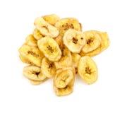 Geschmackvolle Banane bricht Atelieraufnahme ab Lizenzfreie Stockfotos