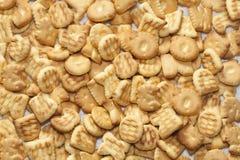 Geschmackvolle Biskuite Lizenzfreies Stockbild