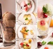 Geschmackvolle Eiscreme Lizenzfreies Stockfoto