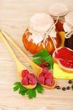 Geschmackvolle Frucht- und Beerenstörung Lizenzfreie Stockfotos