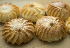 Geschmackvolle Kekse mit Zucker Lizenzfreie Stockbilder