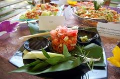 Geschmackvolle Mittelmeernahrung Lizenzfreies Stockfoto