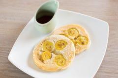 Geschmackvolle Pfannkuchen Lizenzfreies Stockfoto