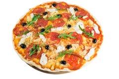 Geschmackvolle Pizza Lizenzfreies Stockbild