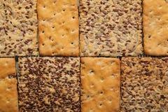 Geschmackvolle Plätzchen von verschiedenen Arten Zwei Arten Keks stockfoto