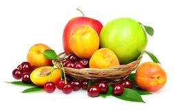 Geschmackvolle Sommerfrüchte Lizenzfreie Stockfotos