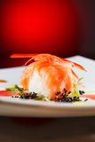 Geschmackvolle Sushi Lizenzfreie Stockfotos