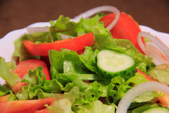 Geschmackvolle und gesunde Lebensmittelnahaufnahme Stockbilder