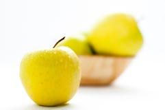 Geschmackvoller Apfel Lizenzfreie Stockfotos