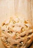 Geschmackvoller Apfelkuchen Stockfotos