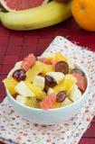 Geschmackvoller Fruchtsalat Lizenzfreie Stockfotos