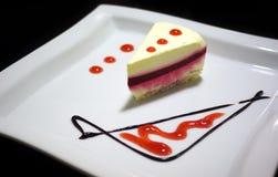 Geschmackvoller Kuchen Stockfoto