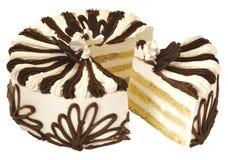 Geschmackvoller Kuchen Stockbild