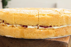Geschmackvoller Kuchen Lizenzfreies Stockfoto