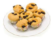 Geschmackvoller Muffinkuchen Lizenzfreies Stockbild