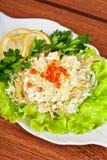 Geschmackvoller Salat lizenzfreies stockfoto