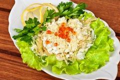 Geschmackvoller Salat lizenzfreie stockfotografie