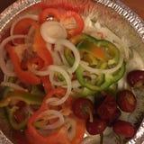 Geschmackvoller Salat Stockfotos