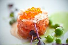 Geschmackvoller Thunfisch Stockfoto