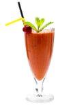 Geschmackvoller und nützlicher Beere Smoothie Lizenzfreie Stockfotografie