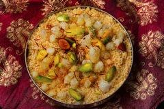 Geschmackvolles Churma, Pune, Indien Stockfotos