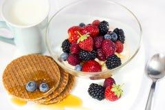 Geschmackvolles Frühstück Stockfoto