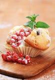 Geschmackvolles Muffin stockbild