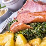 Geschmackvolles Oldenburg-gruenkohl Lizenzfreies Stockfoto