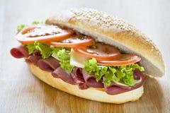 Geschmackvolles Sandwich Stockfoto