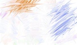 Geschmierte Farben Stockfotografie