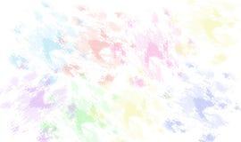 Geschmierte Farben Stockfoto