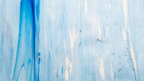 Geschmiertes weißes Spritzen des blauen Farbenhintergrundes lizenzfreie stockfotografie