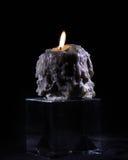 Geschmolzene Kerze Lizenzfreie Stockfotografie