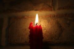 Geschmolzene Kerze 8 Stockfotografie
