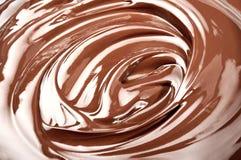 Geschmolzene Schokolade Stockfotos