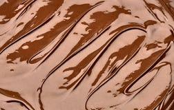 Geschmolzene Schokolade stockbilder