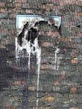 Geschmolzenes Zeichen Stockbild