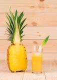 Geschnittene Ananas Stockfoto