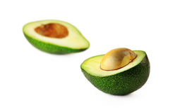 Geschnittene Avocado Lizenzfreie Stockfotos