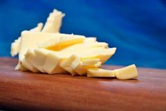 Geschnittene Butter Stockfotos