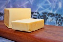 Geschnittene Butter Stockfoto