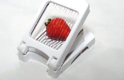 Geschnittene Erdbeere Lizenzfreie Stockbilder